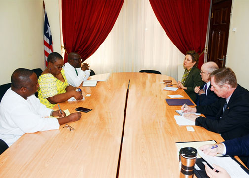 US EMBASSY OFFICIALS MEETS WITH NEC CHAIRMAN KORKOYA