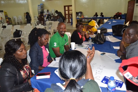 NEC-Partners Conduct Messaging Workshop For 2017 Elections