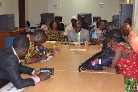 NEC Boss Cllr. Korkoya & Commissioners held Press Conference to Update the Public