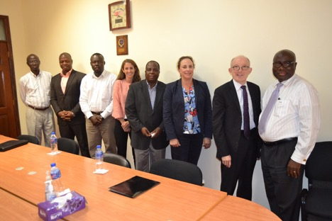 Chairman Korkoya Updates US Embassy Delegation on Preparations for 2017 Elections